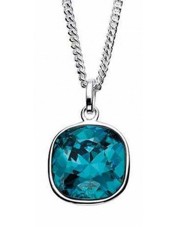Collier cristal Swarovski en argent