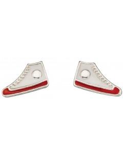 Mon-bijou - D939p - Boucle d'oreille patin à glace en argent 925/1000