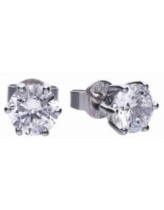 Mon-bijou - D5581 - Boucle d'oreille tendance en argent 925/1000