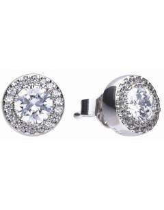Mon-bijou - D5591 - Boucle d'oreille original en argent 925/1000