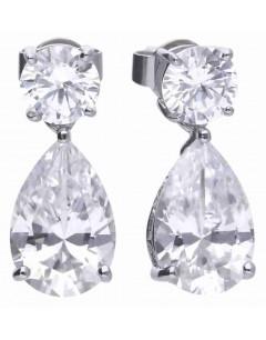 Mon-bijou - D5596 - Boucle d'oreille original en argent 925/1000