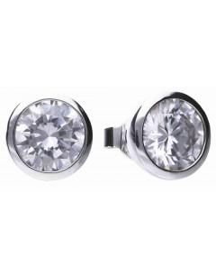 Mon-bijou - D5622 - Boucle d'oreille original en argent 925/1000