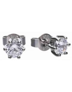 Mon-bijou - D5630 - Boucle d'oreille originale en argent 925/1000