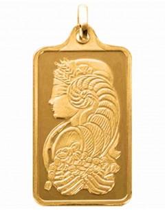 Mon-bijou - D9011 - Collier Fortuna de qualité supérieur en Or 999/1000 …