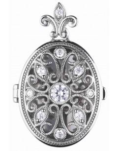 Mon-bijou - D4622 - Collier pendentif photo en argent 925/1000