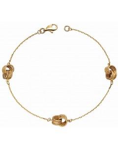 Mo-bijou - D467c - Bracelet classe en Or 375/1000