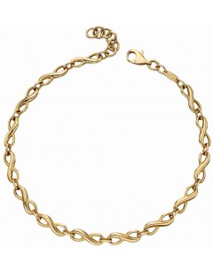 Mon-bou - D471 - Bracelet infinity en Or 375/1000