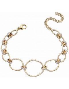 Mon-bijou - D477c - Bracelet original diamant en Or 375/1000