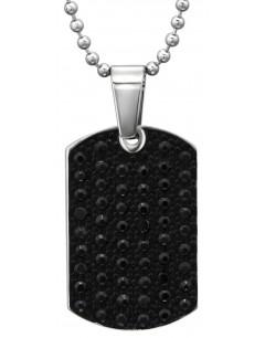 Mon-bijou - H31622 - Collier original en acier inoxydable