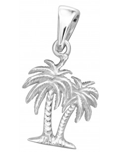 Mon-bijou - H32273 - Collier palmiers en argent 925/1000