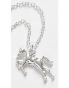 Mon-bijou - D1559 - Collier cheval argenté