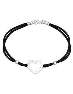 Mon-bijou - D4020c - Bracelet Cœur en Argent 925/1000