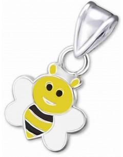 Mon-bijou - H19320 - Collier abeille en argent 925/1000