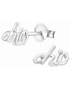 Mon-bijou - H33315 - Boucle d'oreille chic en argent 925/1000