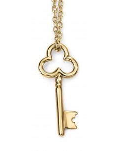Mon-bijou - D225a - Collier clé en Or 375/1000