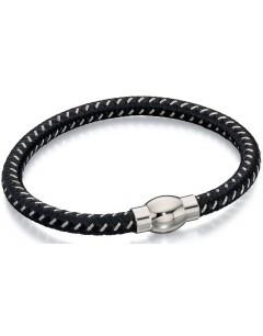 Mon-bijou - D4734 - Bracelets chic en nylon et acier inoxydable