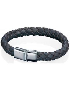 Mon-bijou - D3673 - Bracelet cuire en acier inoxydable