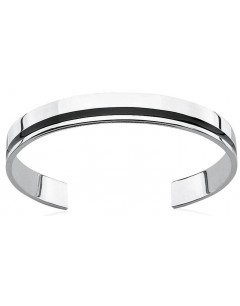 Mon-bijou - D752c - Bracelet chic résine en argent 925/1000