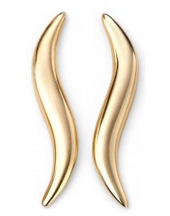 Mon-bijou - D2070 - Boucle d'oreille tendance en Or 375/1000