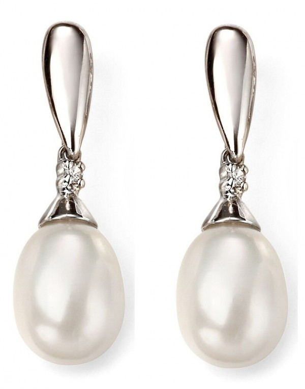 boucle d'oreille perles