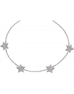Mon-bijou - D5103c - Bracelet étoiles en argent 925/1000