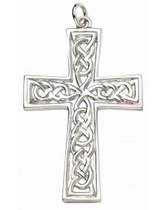 Mon-bijou - D4449 - Collier superbe croix celtique en argent 925/1000