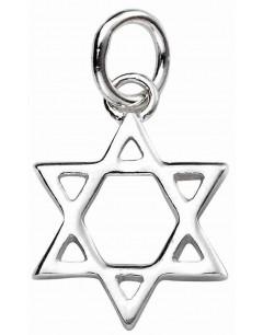 Mon-bijou - D4451 - Collier étoile de David en argent 925/1000
