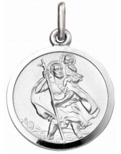 Mon-bijou - D4487 - Collier Saint Christophe en argent 925/1000