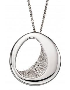 Mon-bijou - D4851c - Collier tendance et chic en argent 925/1000