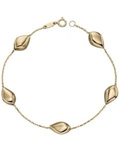 Mon-bijou - D479a - Bracelet tendance en or 375/1000