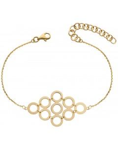 Mon-bijou - D480a - Bracelet tendance en or 375/1000
