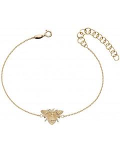 Mon-bijou - D481 - Bracelet abeille en or 375/1000