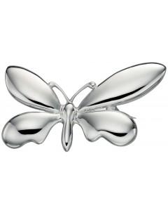 Broche papillon en argent 925/1000