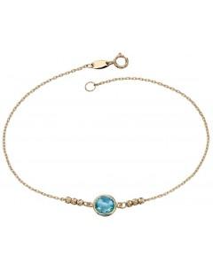 Mon-bijou - D446 - Bracelet topaze en Or 375/1000