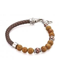 Mon-bijou - D4872 - Bracelet classe et chic en acier inoxydable