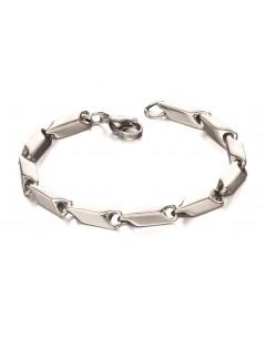 Mon-bijou - D4971 - Bracelet original en acier inoxydable