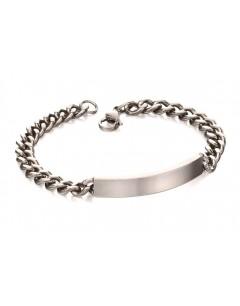 Mon-bijou - D4987 - Bracelet tendance en acier inoxydable