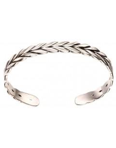 Mon-bijou - D5115 - Bracelet laurier en argent 925/1000