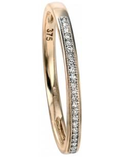 Mon-bijou - D511 - Bague diamants en or 375/1000
