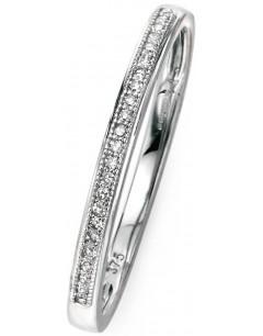 Mon-bijou - D512a - Bague diamant en or 375/1000