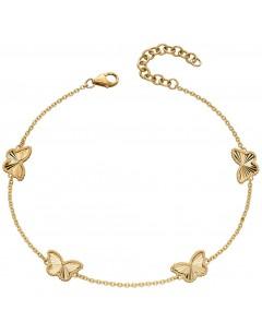 Mon-bijou - D490 - Bracelet papillon en or jaune 375/1000