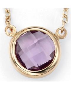 Collier améthyste en Or 375/1000 carats
