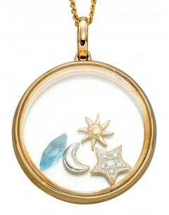 Mon-bijou - D2244 - Collier souvenir de plage en or jaune 375/1000