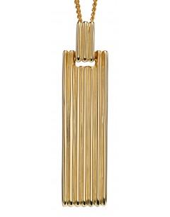 Mon-bijou - D2247 - Collier tendance en or jaune 375/1000