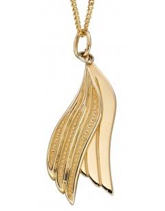 Mon-bijou - D2250 - Collier ailes en or jaune 375/1000