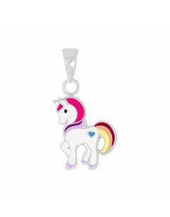 Mon- - FF5564 - Collier cheval en argent 925/1000