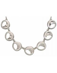 Mon-bijou - D4394 - Collier tendance en argent 925/1000
