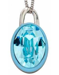 Mon-bijou - D4890 - Collier cristal en argent 925/1000