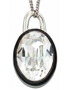 Mon-bijou - D4892 - Collier cristal en argent 925/1000