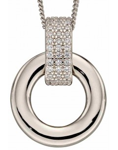 Mon-bijou - D4895a - Collier chic et classe en argent 925/1000